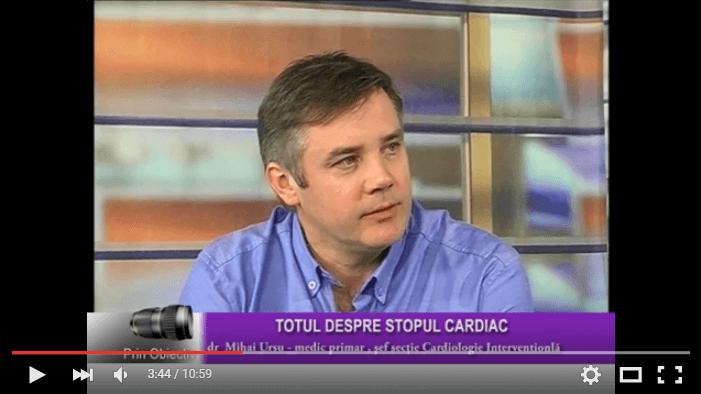 Diferenta dintre atacul de cord si stopul cardiac – Interviu cu dr. Mihai Ursu