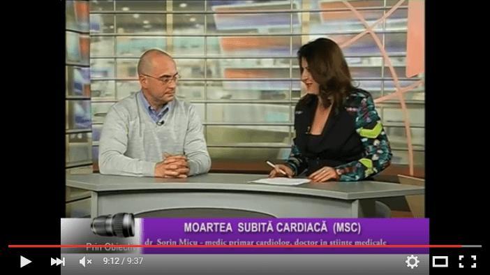 Moartea subita cardiaca – Interviu cu dr. Sorin Micu