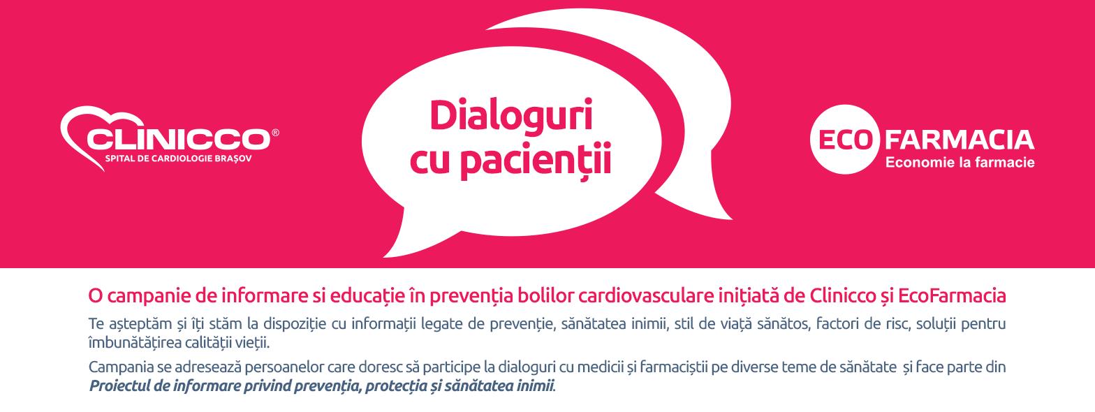 Dialoguri cu pacientii – Hipertensiunea arteriala, Brasov, 28 Iulie 2016