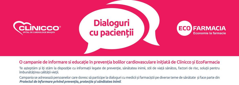 EcoFarmacia si Spitalul de Cardiologie Clinicco au finalizat  prima serie de intalniri cu pacientii