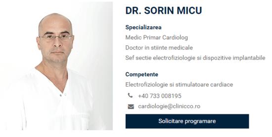 [VIDEO] Despre sincopa cardiaca cu dr. Sorin Micu, Clinicco Brasov
