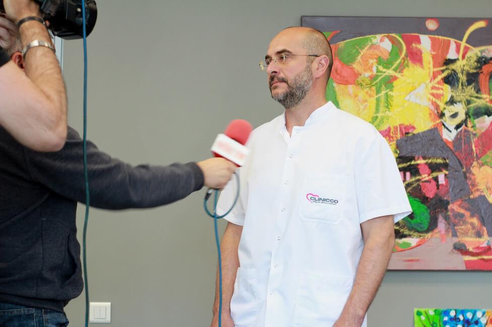 Premieră est-europeană la Clinicco – a fost implantat un aparat revoluţionar în tratarea insuficienţei cardiace