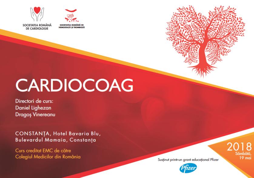Cardiocoag – Curs organizat de Societatea Romana de Cardiologie