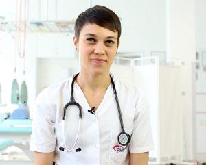 Dr Oana Gornicioiu, medic specialist cardiolog