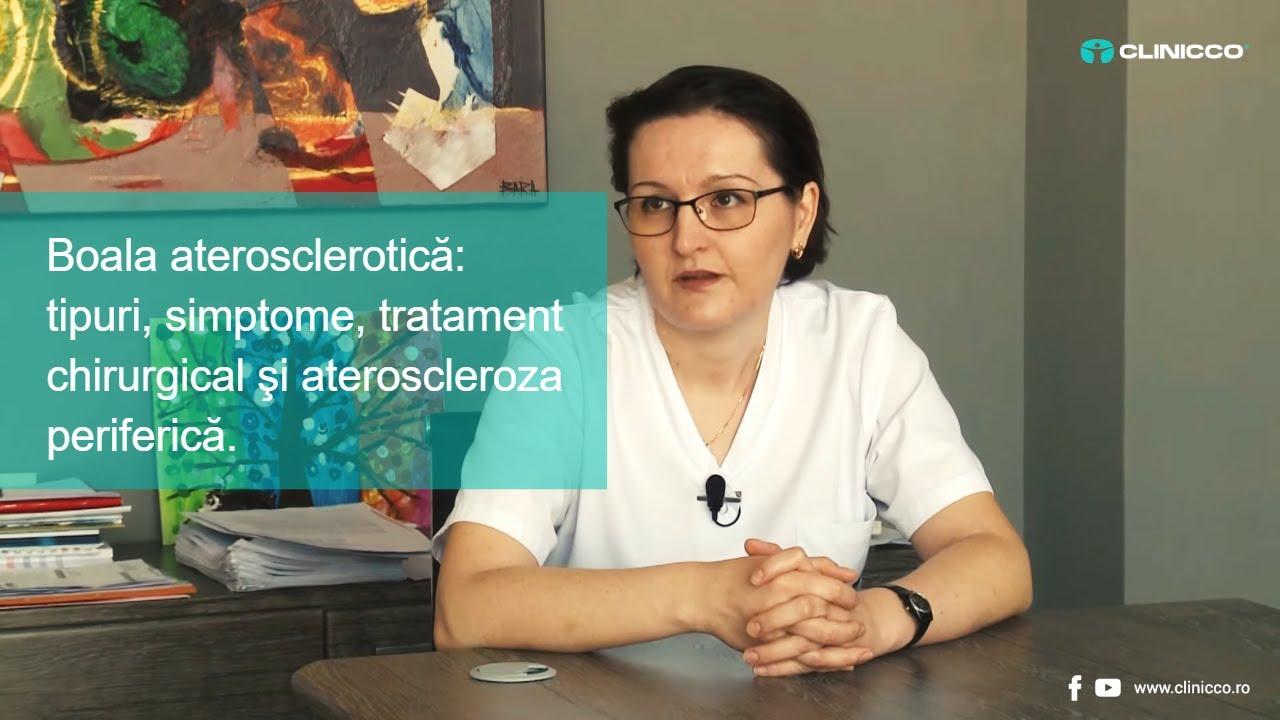 Despre boala aterosclerotică la nivelul membrelor inferioare, cu dr. Emanuela Ciobanu