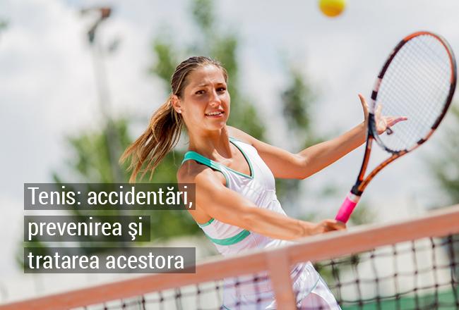 Accidentări și metode de prevenire ale acestora în tenis
