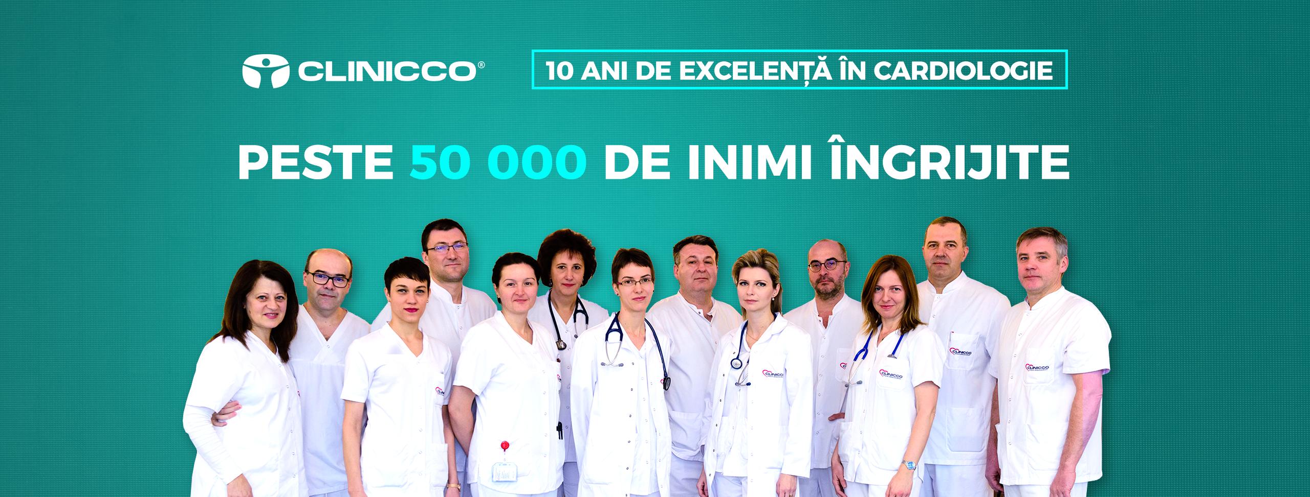 10 ani de excelență în cardiologie, peste 50 000 de inimi îngrijite la Clinicco Brașov